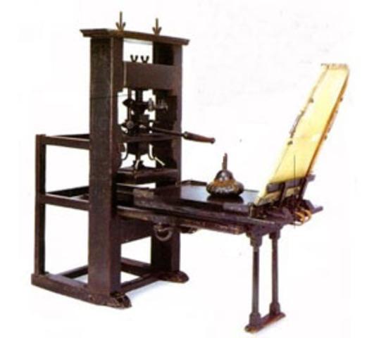 Primer Imprenta en Guatemala