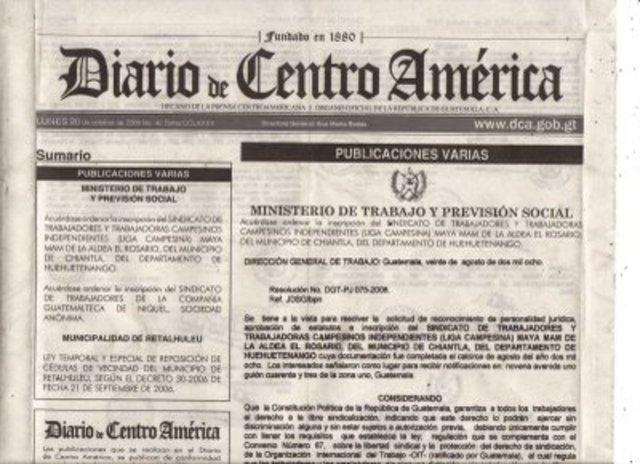 Diario de Centroamérica