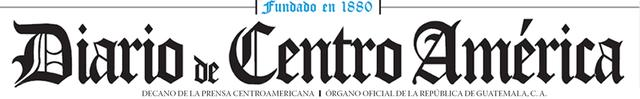 Edición del Diario de Centro América