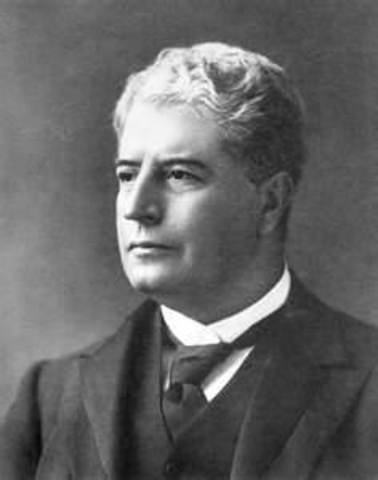 Edmund Barton 1st Prime Minister
