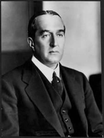 Stanley Melbourne Bruce 8th Prime Minister