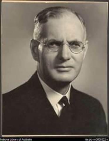 John Curtin 14th Prime Minister