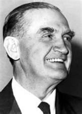 John McEwen 18th Prime Minister