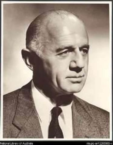 William McMahon 20th Prime Minister