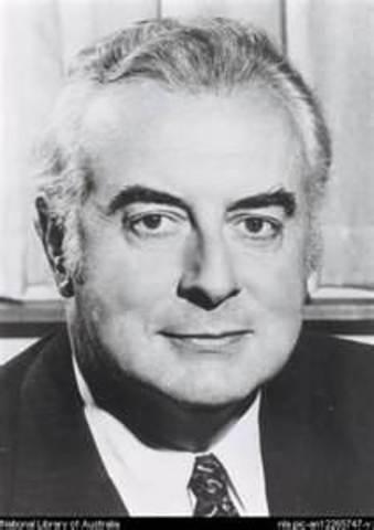 Gough Whitlam 21st Prime Minister