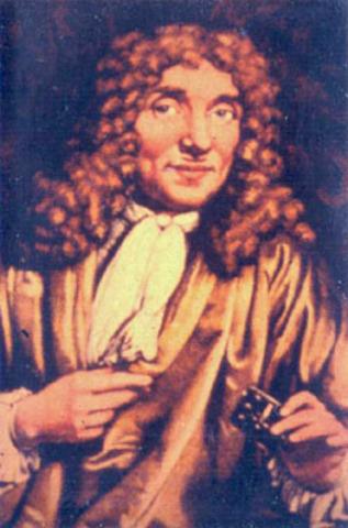 Anton von Leeuenhoek invents the microscope