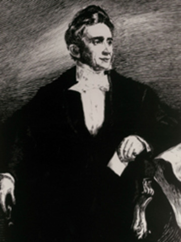 Charles Goodyear invents vulcanized rubber.