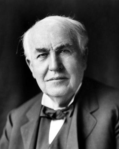 Thomas Edison invents the light bulb.