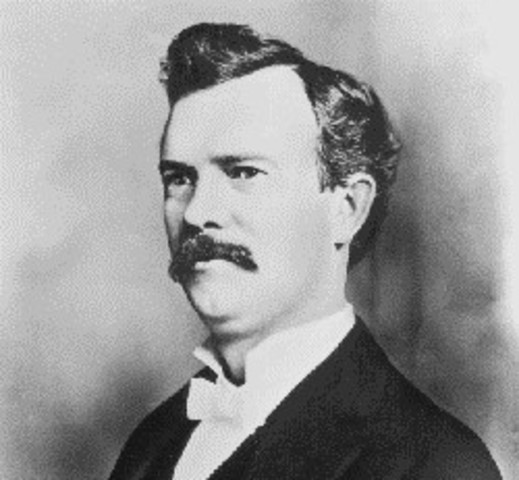 William Seward Burroughts invents the adding machine