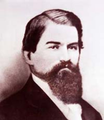 John Pemberton invents Coca-Cola.