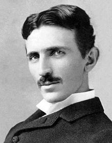 Nikola Tesla invents the radio.
