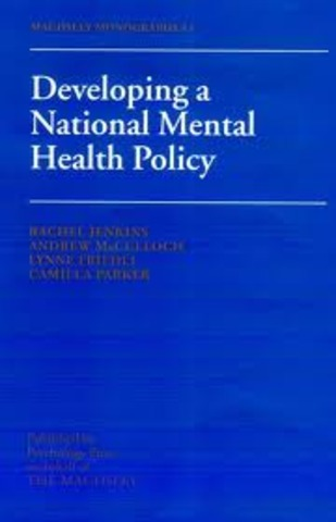 Creation of New Freedom Commission on Mental Health