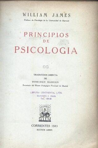 Principios de Psicologia - Wiiliam James