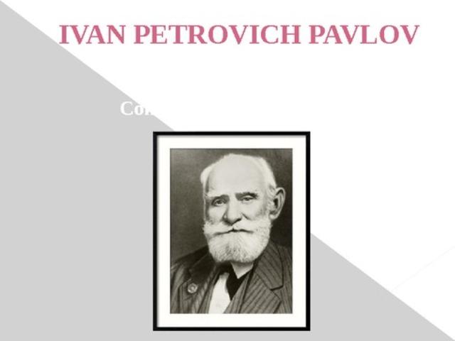 Investigaciones Ivan Pavlov
