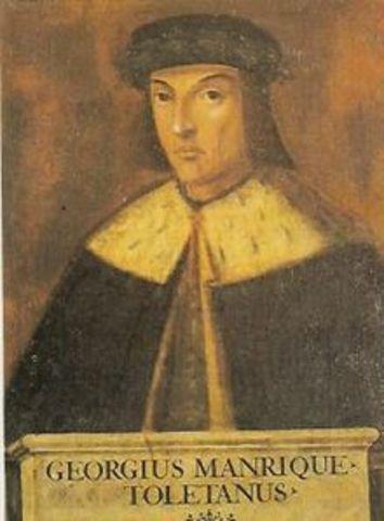 Nace Jorge Manrique