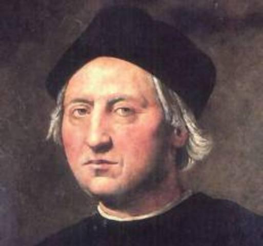 Nace Cristobal Colón