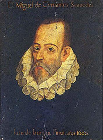 Nace Miguel de Cervantes Saavedra