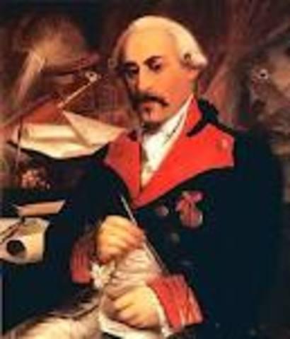 Nacimiento de José Cadalso y Vázquez de Andrade