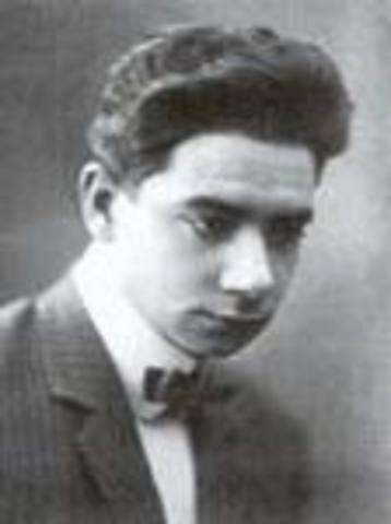 Nacimiento de Tomas Morales Castellano