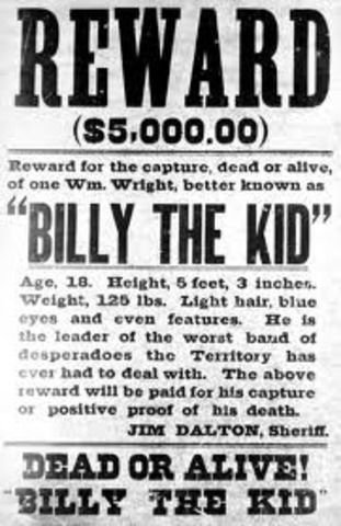 Billy the Kid was shot and killed in Pete Maxwell's bedroom.