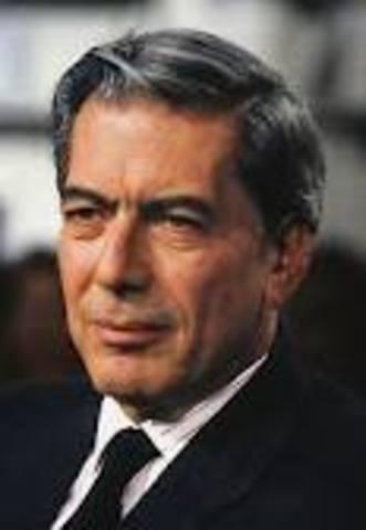Nace Mario vargas Llosa