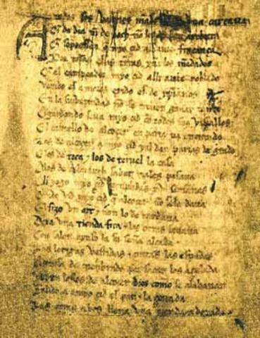el Cantar de Mío Cid