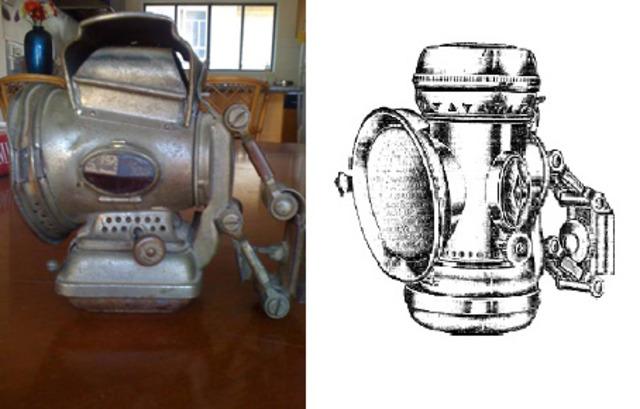 La lampe à huile et à pétrole
