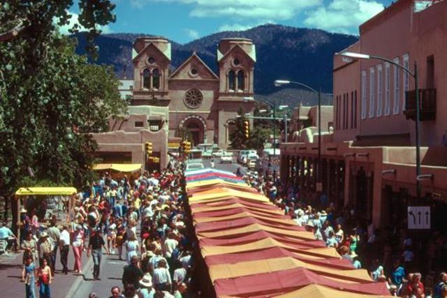 Santa Fe Becomes Capitol