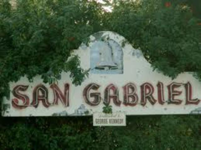 San Gabriel founded
