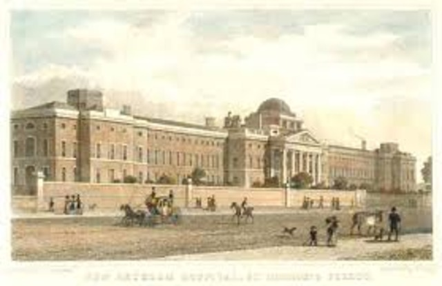 The most famous asylum, the Hospital of St.Mary of Bethlehem, was created in London