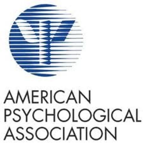American Psychological Association was formed.