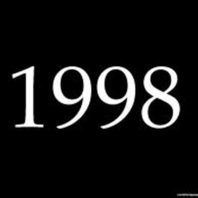 History of 1998 timeline