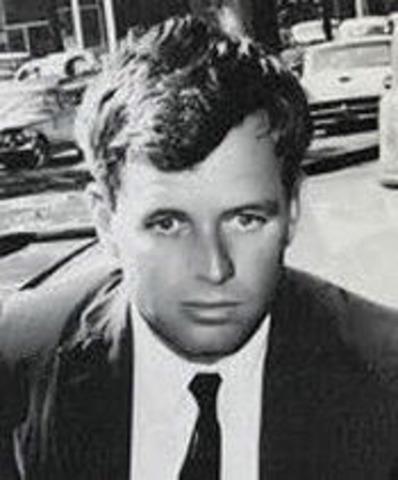 Bobby Kennedy is assasinatated