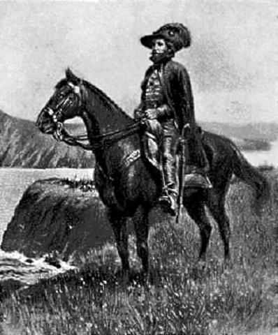 Juan Bautista de Anza makes peace with the Comanches