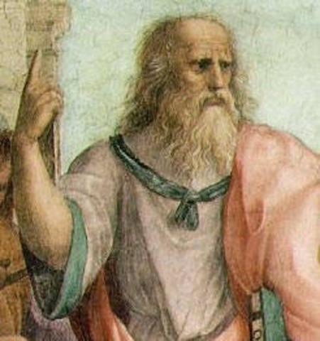 Plato (400BC)