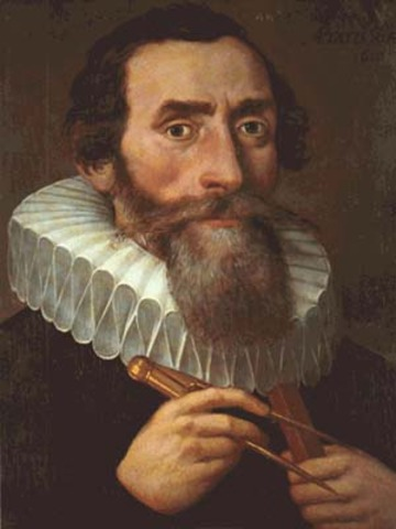 Kepler (1600AD)