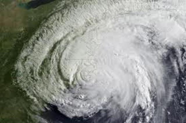 Irene Makes Landfall