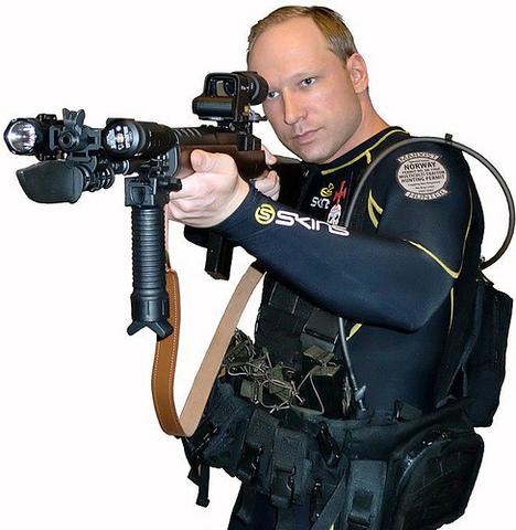 Breivik döms till 21 års fängelse