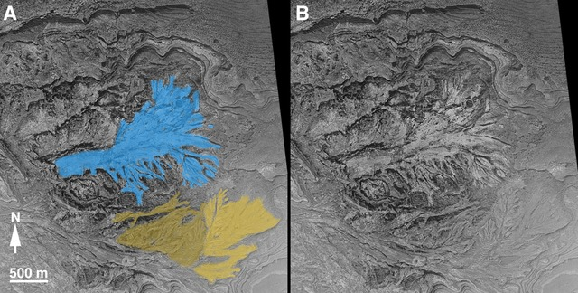 Water-lain Sedimentary Rock on Mars