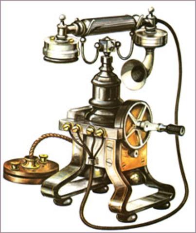 Alexander G. Bell patents telephone
