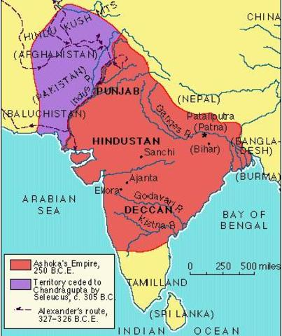 Asoka   empire