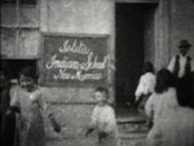 Indian School is Filmed