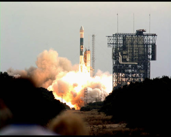 Mars Odyssey Launches