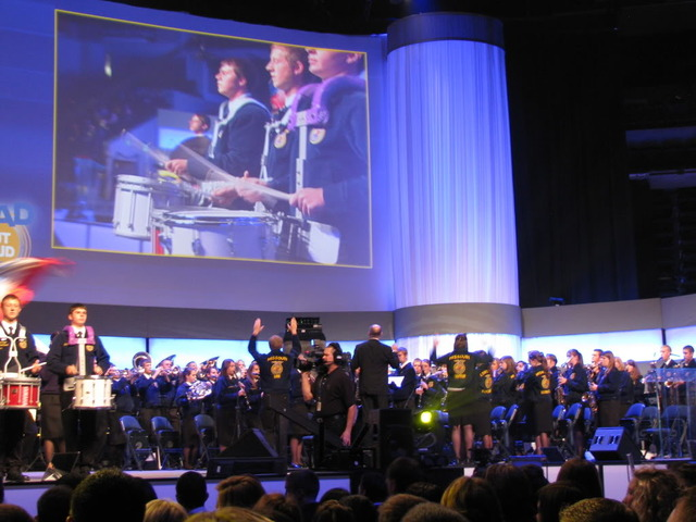 National Band Performs