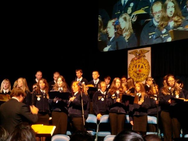 National Chorus Performs