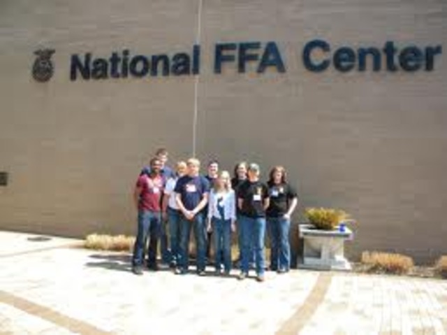 First National FFA Center Dedicated