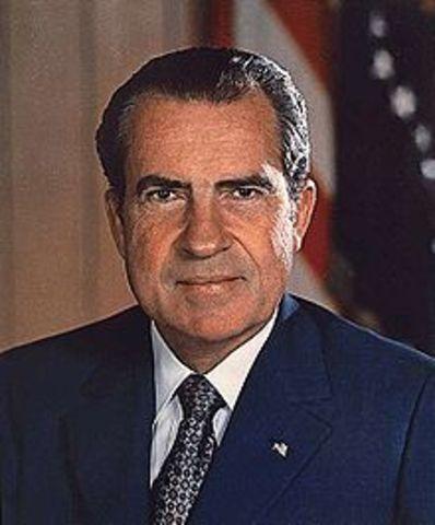 President Nixon Speaks
