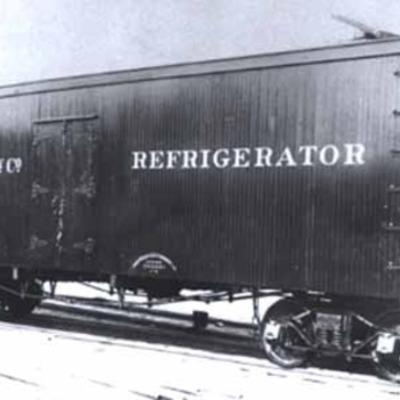 Refrigerator Car By J.B. Sutherland timeline