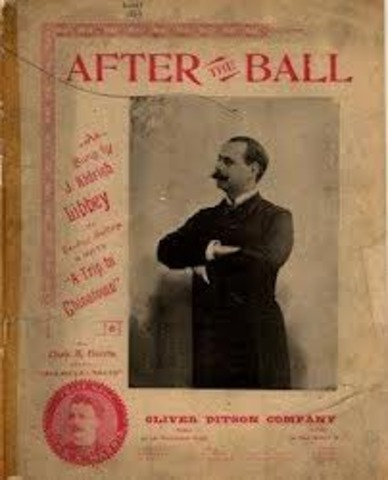 """First Million-seller hit song """"After the Ball"""""""