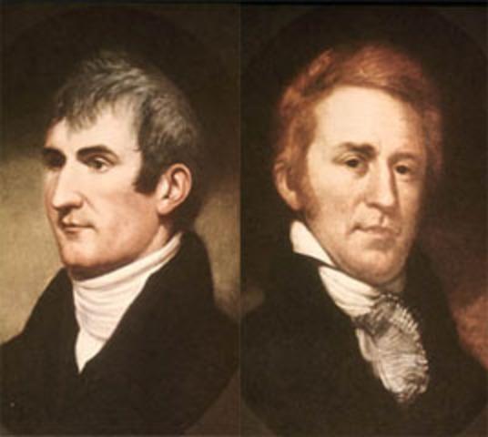Lewis & Clark Expedition begins